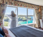 Rooms at Mullion Cove Hotel