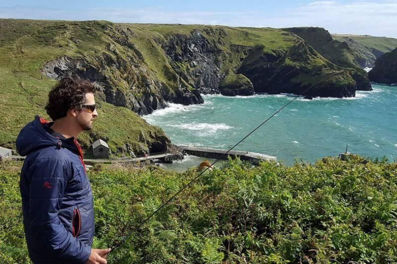 Sea Fishing in Mullion Cove, the Lizard and West Cornwall